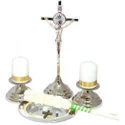 Zestaw kolędowy 35 KK35 w odcieniach srebra