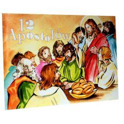 12 Apostołów. Kolorowanka