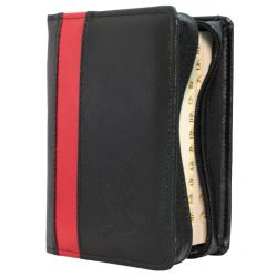 Pismo Święte Edycja św. Pawła mały paginacja + etui czarne pasek czerwony