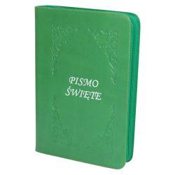 Pismo Święte Edycja Św. Pawła zieleń zamek