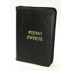 Pismo Święte Biblia Tysiąclecia oazowa paginacja zamek złoty