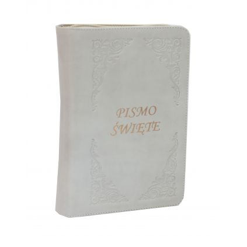 Pismo Święte Edycja Św.Pawła zamek cappuccino