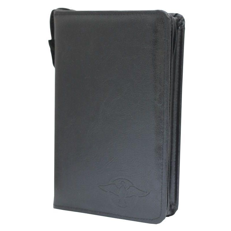 Biblia Edycja św. Pawła balacron z etui czarny wcięcia