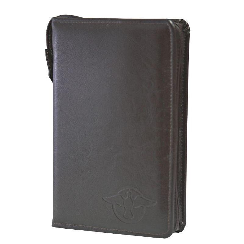Biblia Edycja św. Pawła balacron z etui brąz wcięcia