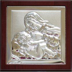 Matka Boża Karmiąca 9,5x9,5 cm