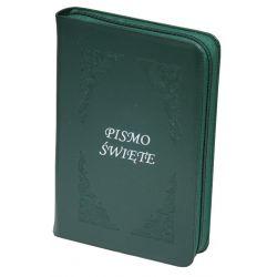 Pismo Święte Edycja Św. Pawła zamek zieleń ciemna paginacja