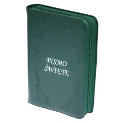 Pismo Święte Biblia Tysiąclecia oazowa paginacja skóra zamek