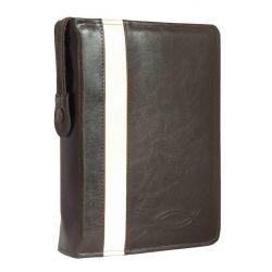 Biblia Tysiąclecia duża paginacja etui haft kasztanowe
