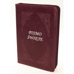 Pismo Święte Edycja Św.Pawła zamek Bordo paginacja