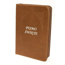 Pismo Święte Edycja Św.Pawła zamek Brąz