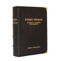 Biblia Rodzinna czarna