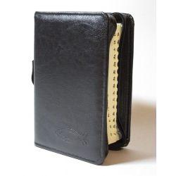 Biblia Tysiąclecia oazowa czarna etui wcięcia