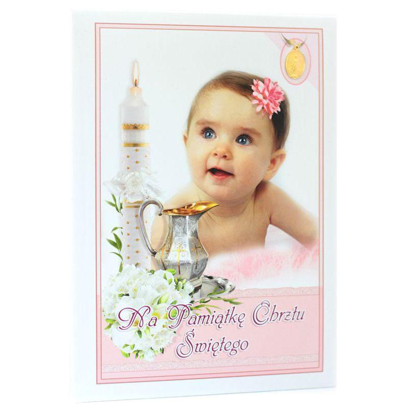 Na Pamiątkę Chrztu Świętego (dziewczynka z kwiatem)