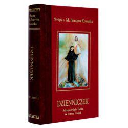 Dzienniczek św. Faustyny Miłosierdzie Boże w duszy mojej. Oprawa twarda, złocenia
