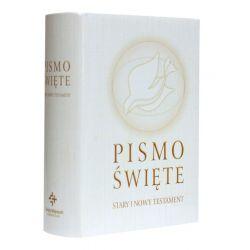 Wydawnictwo Świętego Wojciecha Pismo Święte Starego i Nowego Testamentu 12,5x17 ecru