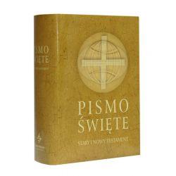 Wydawnictwo Świętego Wojciecha Pismo Święte Starego i Nowego Testamentu 12,5x17 beż