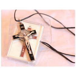 Krzyż św. Benedykt czarny