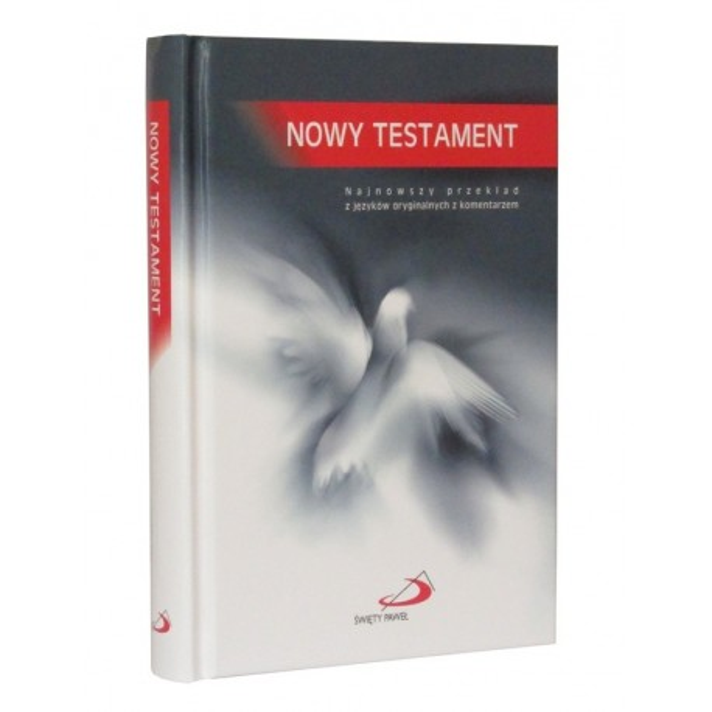 Nowy Testament format mały oprawa twarda