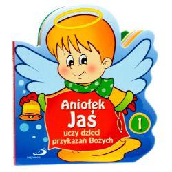 Aniołek Jaś uczy dzieci przykazań Bożych