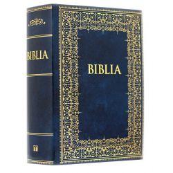 Biblia rodzinna z błogosławieństwem Jana Pawła II 12x17,5